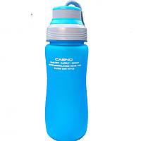 Бутылка для питья, воды, с фильтром, ручкой  Casno 600мл -  ЭКОпластик, спортивная, Пляшка для пиття,