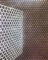 Большой многоразовый трафарет соты, шестигранники для стен под покраску, гипс, штукатурку и др.мат-лы