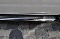 Пороги боковые (подножки) для Opel Vivaro (Опель Виваро), нерж d60mm