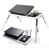Столик подставка для ноутбука E-table  2 USB Cooler с охлаждением