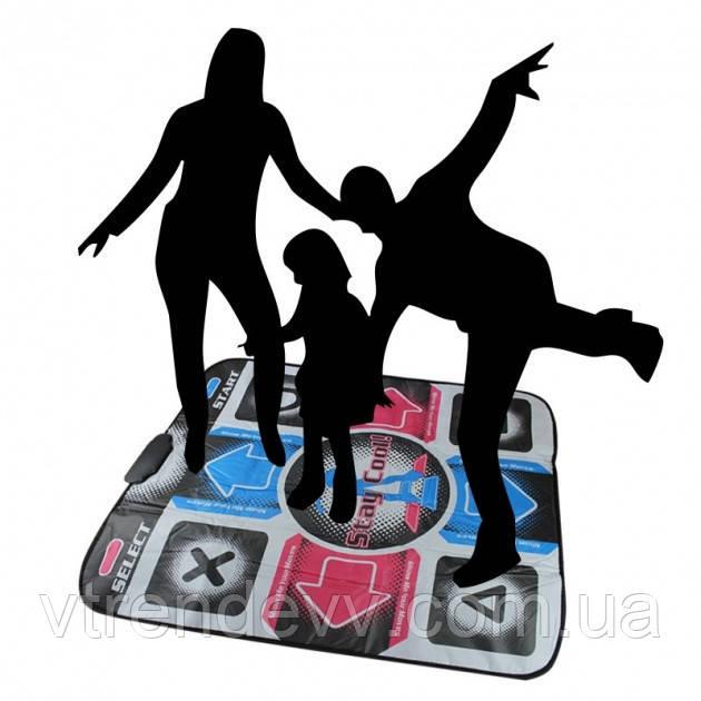 Танцевальный коврик X-treme Dance Pad Platinum с блоком питания TV