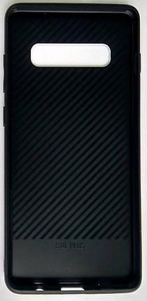 "Силіконовий чохол ""Скляний Shine Gradient"" Samsung G975/S10+ (Violet Barca) #8, фото 2"