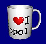 "Кружка / чашка ""I love"" Севастополь, фото 3"