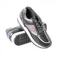 Кросівки жіночі чорні опт