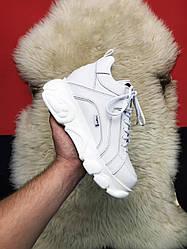 Женские кроссовки Buffalo London White (белые)