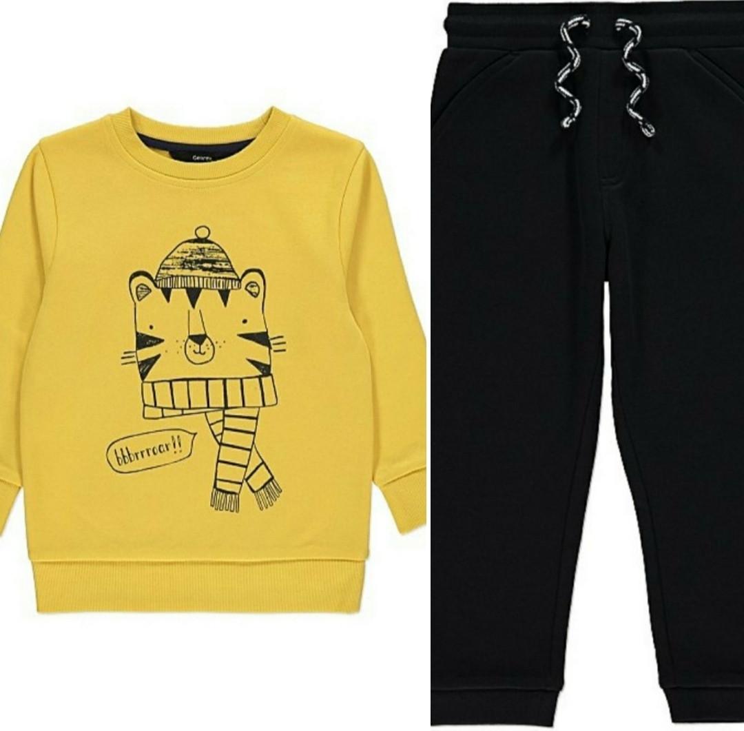 Спортивный костюм свитшот и спортивные штаны George (Англия) р.86, 92, 98, 104, 116см