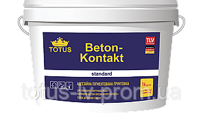 Грунтовка адгезивная пигментированная Beton Kontakt Totus 7 кг