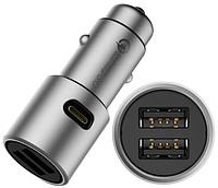 Xiaomi (OR) Car Quick Charger 3.0 Silver (CZCDQ02ZM)