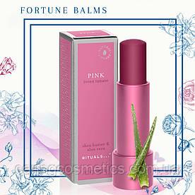 "Rituals. Бальзам для губ ""Fortune Balms"" – Pink, Розовый. 4,8 гр. Производство Нидерланды."