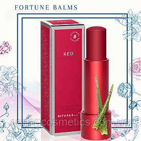 """Rituals. Бальзам для губ """"Fortune Balms"""" - Red, Красный. 4,8 гр. Производство Нидерланды."""