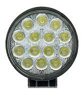 Фара рабочая LED 42W/30° (14x3W, 3080 lm, узкий луч 30°)
