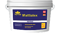 Краска латексная TOTUS Mattlatex Standard