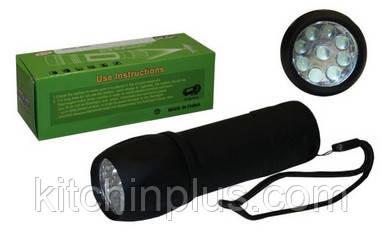 Фонарик ручной BL-512-9 LED