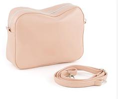 Кожаные сумки Кроссбоди SOHO в расцветках нюд пелле
