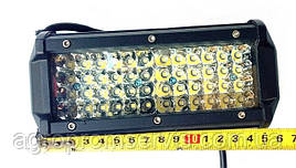 Фара прожектор рабочая LED 72 лампы (24x3W, 5040 lm,  луч 60°)
