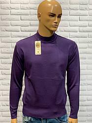 Джемпер чоловічий стійка фіолетовий
