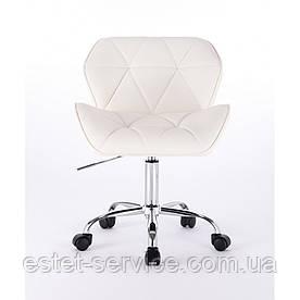 Кресло косметолога HC111K на колесах в ЦВЕТАХ кожзам