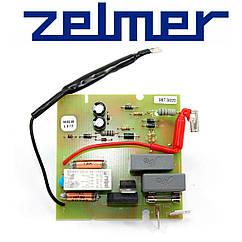 Плата управления (с кнопкой) для мясорубки Zelmer 987.0020
