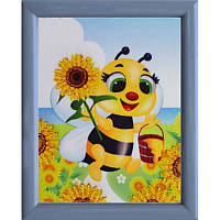 Пчелка. Butterfly. Схема для вышивки бисером