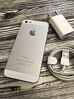 Смартфон Apple Iphone 5s 16gb Silver Neverlock Б/У оригинал ИДЕАЛЬНОЕ СОСТОЯНИЕ