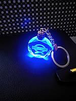 Брелок з підсвіткою  для ключів з логотипом автомобиля Nissan  прозорий  для автомобильных ключей нісан