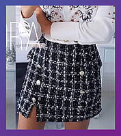 Женская юбка шотландка рр. 42; 44