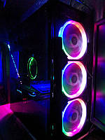 ИГРОВОЙ ПК I5-4460 RX580 16 gb ram SSD HDD pc компьютер