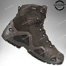 LOWA Z-6S GTX® TF (dark brown) ботинки тактические/ военная обувь армейская