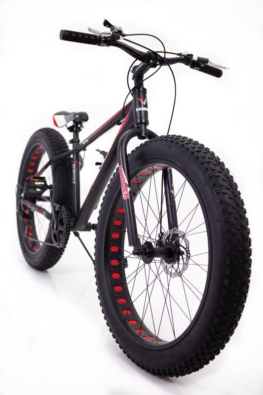 """Фэт Байк-Горный Велосипеды """"S800 HAMMER EXTRIME"""" Колёса 26''х4,0. Алюминиевая рама 17'' Япония Shimano."""