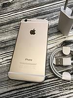 Смартфон Apple Iphone 6 16gb Gold Neverlock Б/У оригинал ИДЕАЛЬНОЕ СОСТОЯНИЕ