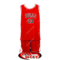 Баскетбольная форма Чикаго Буллз Роуз №23 красная