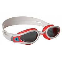 Очки для плавания Aqua Sphere Kaiman EXO Lady (Красный-белый; линзы тёмные)