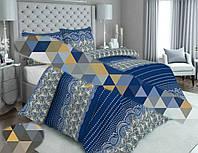 Постельный комплект - полуторный набор постельного белья бязь 80% / 20% хлопок