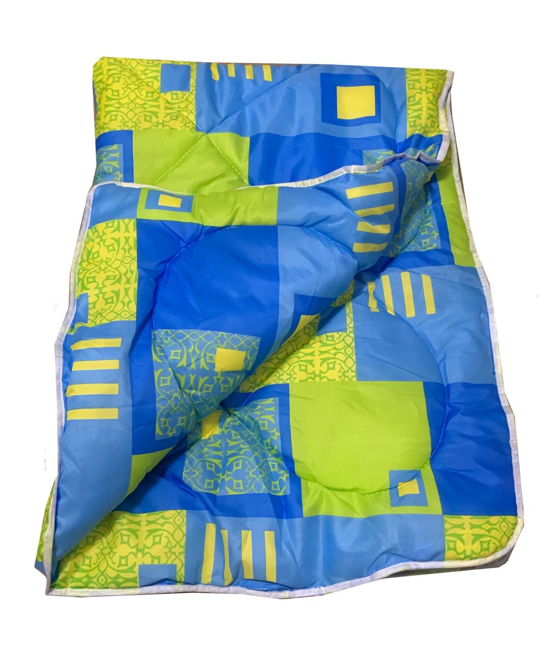 Одеяло полуторное, холлофайбер 150*220 см, Украина
