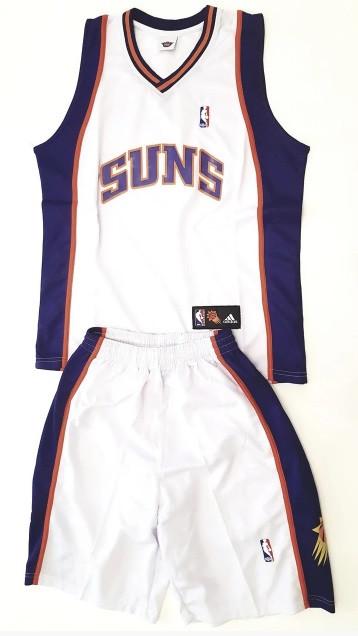 Баскетбольная форма взрослая PHOENIX SUNS белая