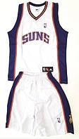 Баскетбольна форма доросла PHOENIX SUNS біла