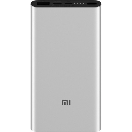 Внешний аккумулятор (Power Bank) Xiaomi Mi Power Bank 3 10000mAh Silver (PLM12ZM)