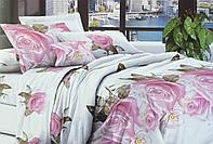 Двухспальный евро комплект постельного белья.