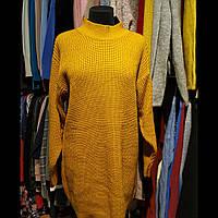 Женское платье вязаное.
