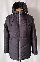 Весна женские Куртки  большого размера   54-68  баклажан