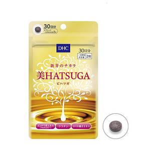 DHC HATSUGA Натуральный комплекс для укрепления, роста и здоровья волос, 60 таблеток на 30 дней