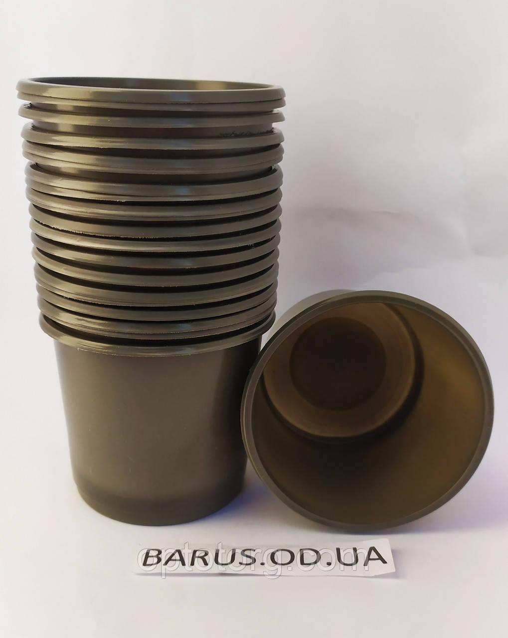 Горшки стаканчики для рассады 70*70 мм