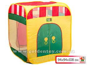 Палатка квадратный дом 94*94*108 см.