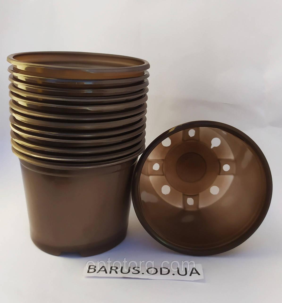 Горшки стаканчики с перфорацией для рассады 75*90 мм