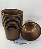 Горшки стаканчики с перфорацией для рассады 75*90 мм, фото 3