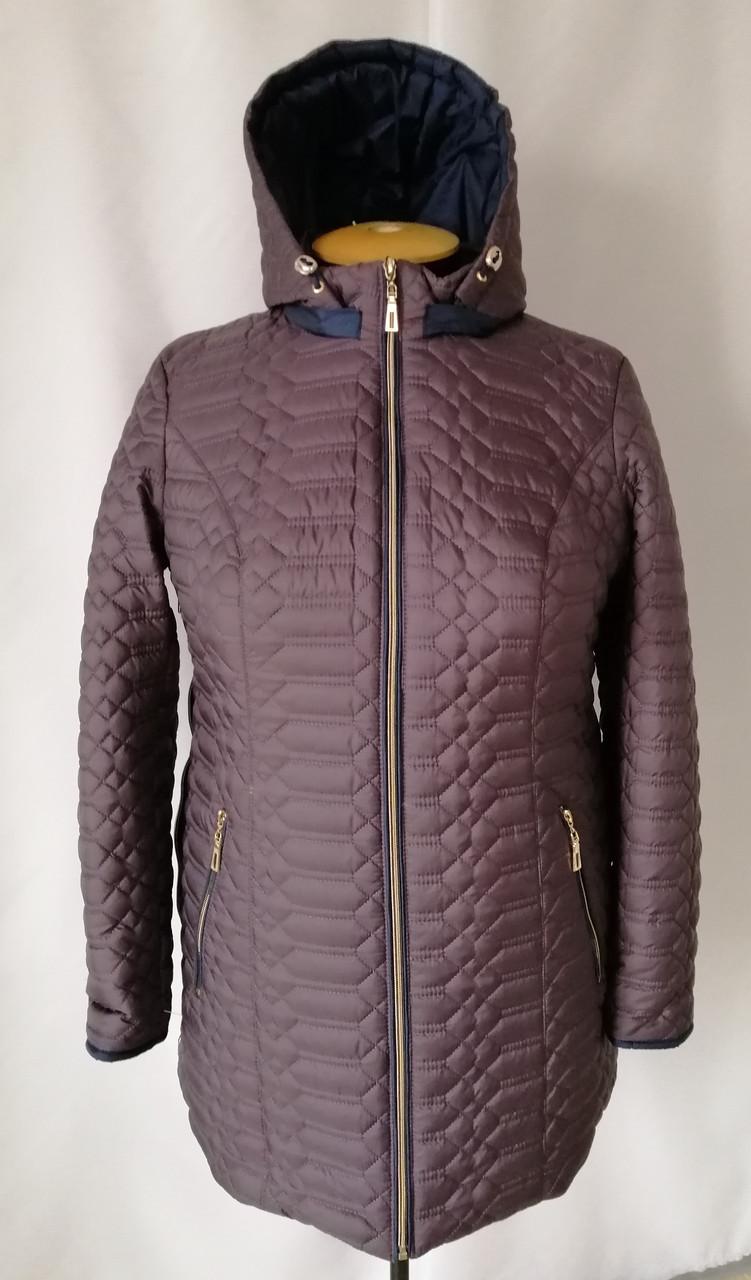 Весна женские Куртки большого размера   54-68  шоколадный