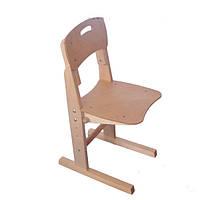 Ученический стул для дома подстраивается по росту, деревянный | Киев