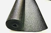 Килимок для йоги, гімнастики, фітнесу 4 мм чорний 170 х 60 х 0,4 см, фото 1