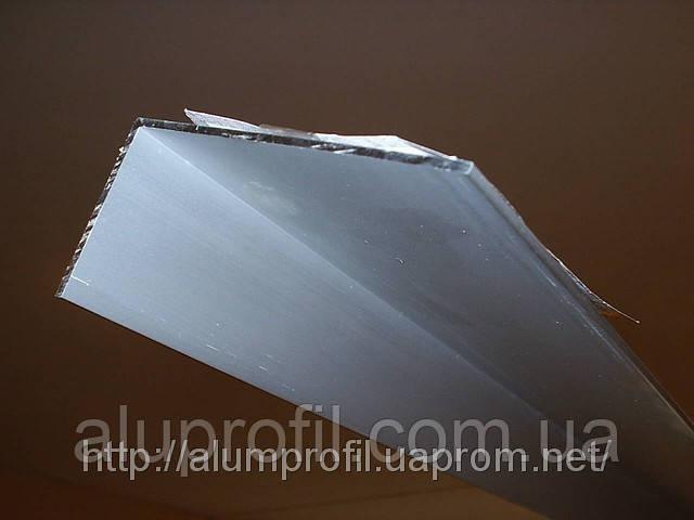Алюминиевый профиль — уголок алюминиевый 120х40х3 Б/П