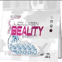 Коллаген для суставов и кожи, коллаген в порошке, Blastex Xline Collagen Beautу Formula 200 G